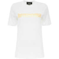 Tricouri Gold Logo T-Shirt Femei