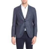 Sacouri office ETRO Two-Buttoned Blue Jacket Barbati