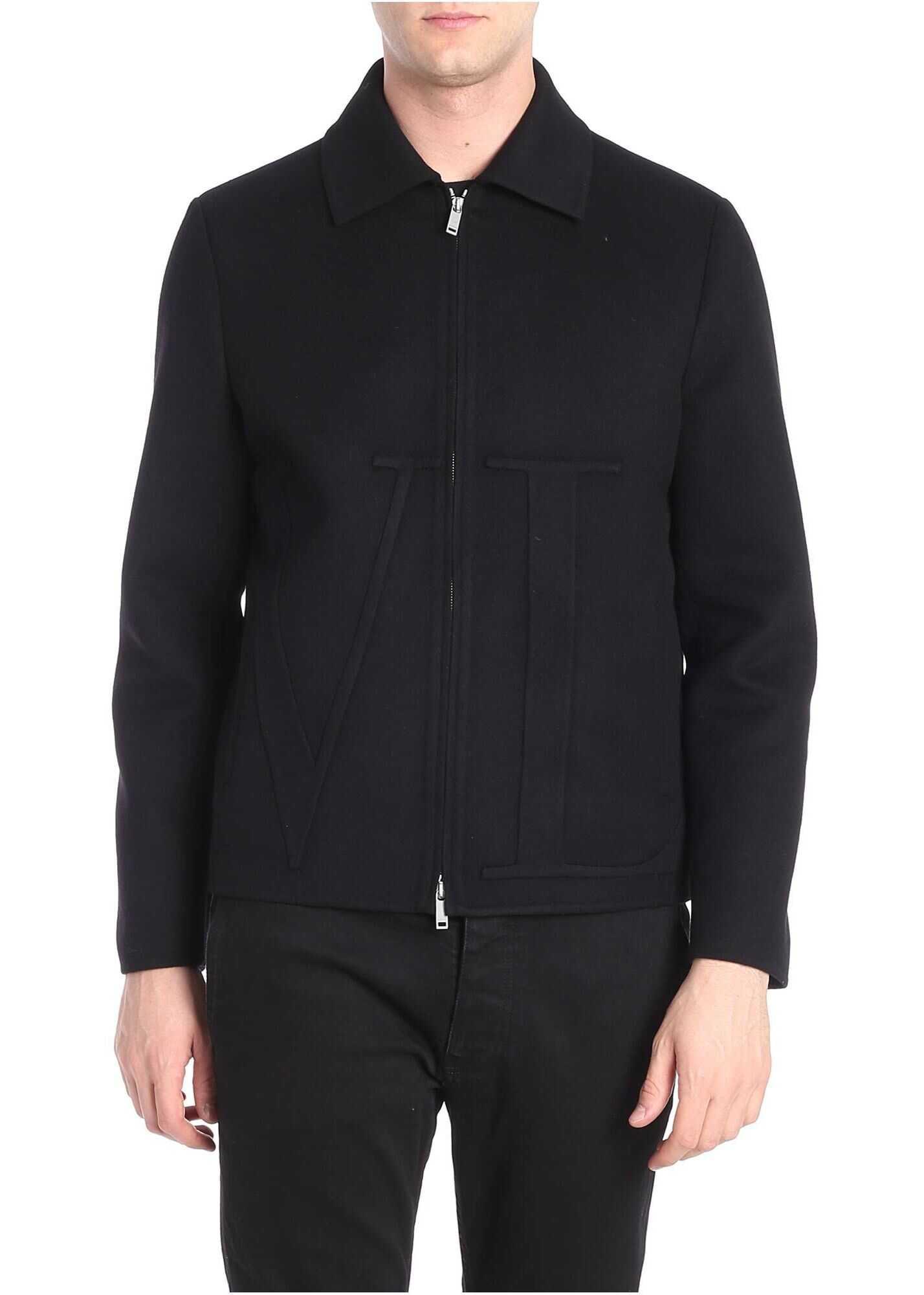 Black Vltn Jacket