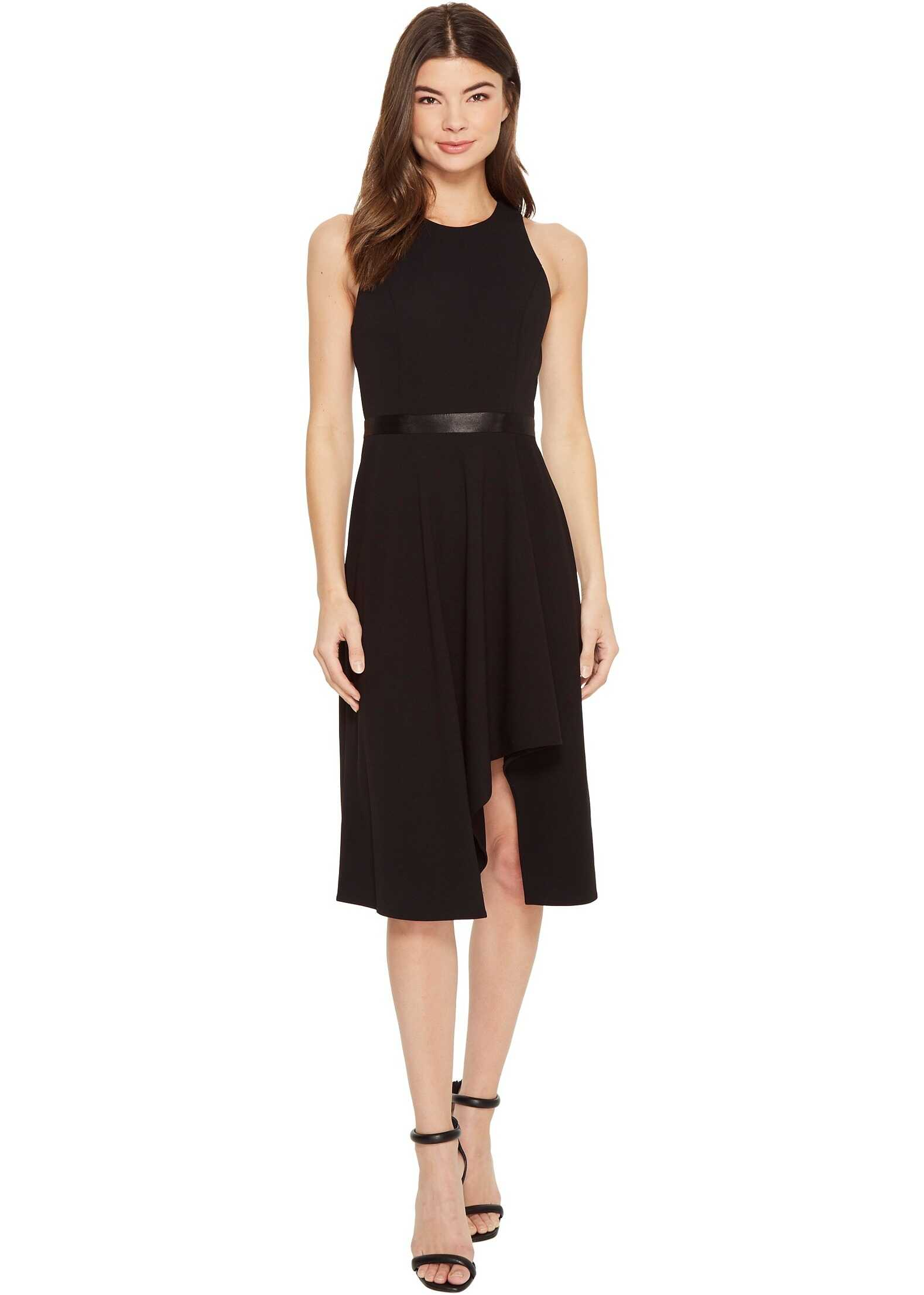Calvin Klein High-Low with Contrast Lining CD8C11KV Black/White