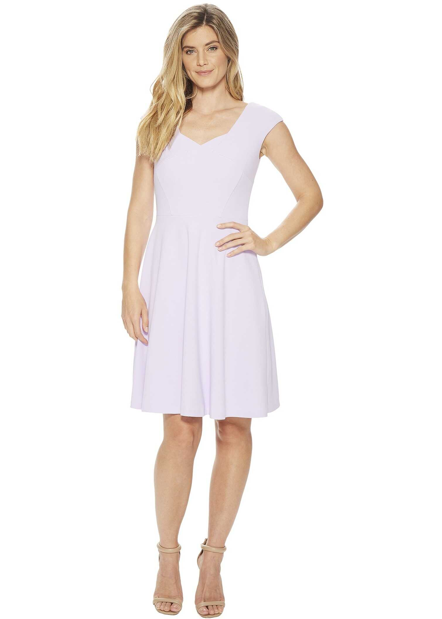 Calvin Klein Cap Sleeve A-Line Dress CD8C15JL Opal