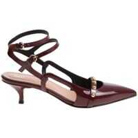 Incaltaminte RED VALENTINO Burgundy Patent Leather Shoes