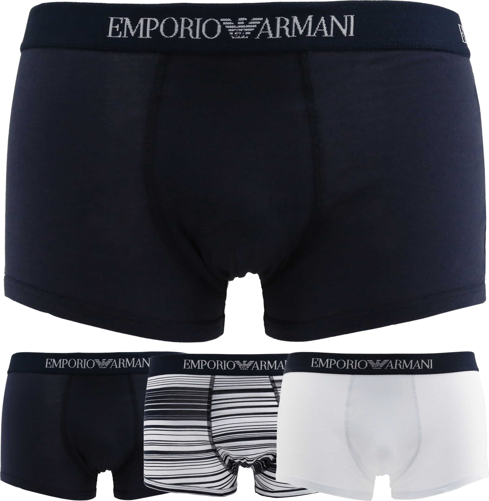 Emporio Armani 3Pack_7P722 BLUE