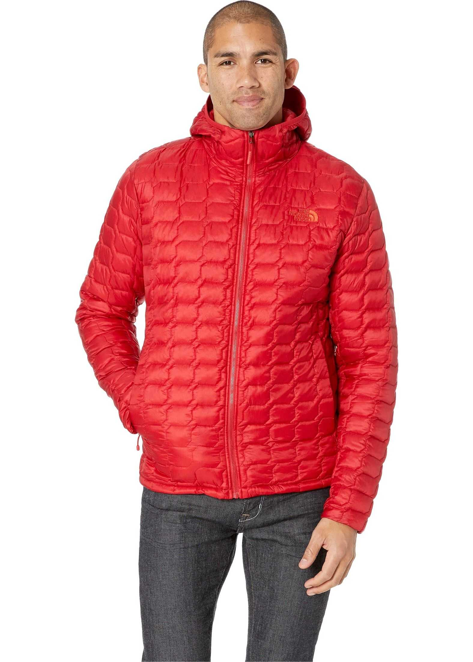 The North Face Thermoball Hoodie Rage Red