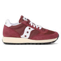 Tenisi & Adidasi Jazz Vintage Red Suede And Fabric Sneaker Femei