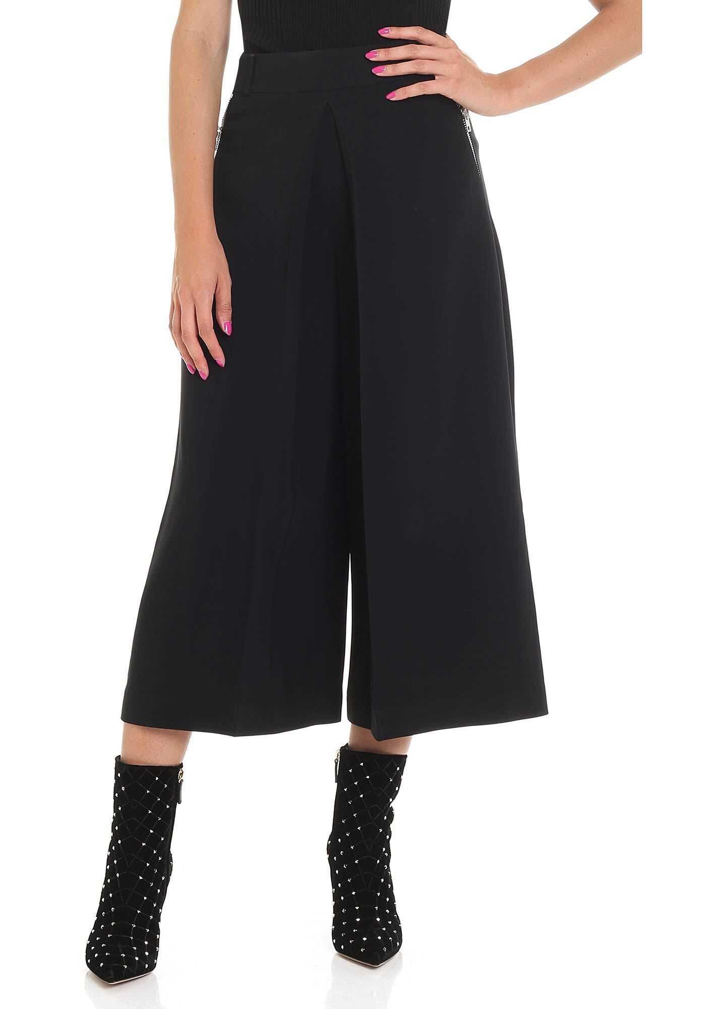 Alexander Wang Black Pants With Zip Black