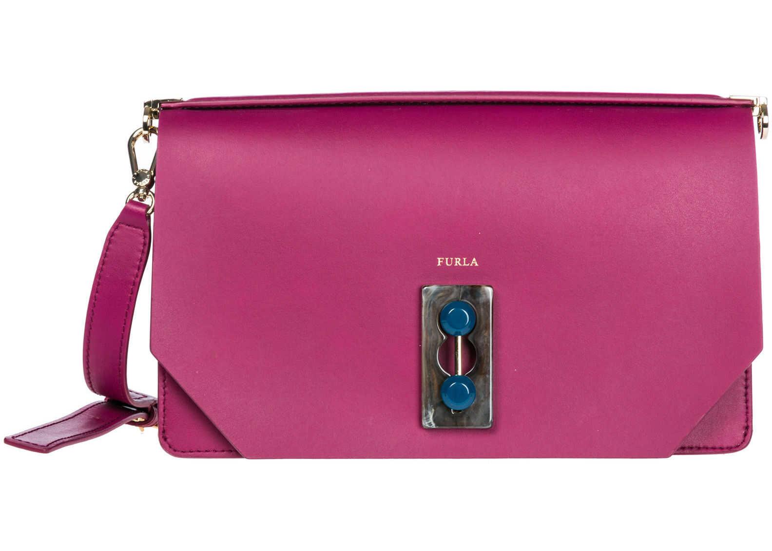 Furla Bag Purse Purple