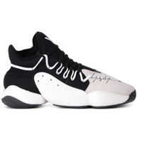 Tenisi & Adidasi Y-3 Byw Bball Black Neoprene And Grey Suede Sneaker