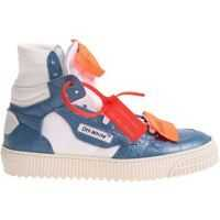 Tenisi & Adidasi Off-White Low 3.0 White And Blue Sneakers