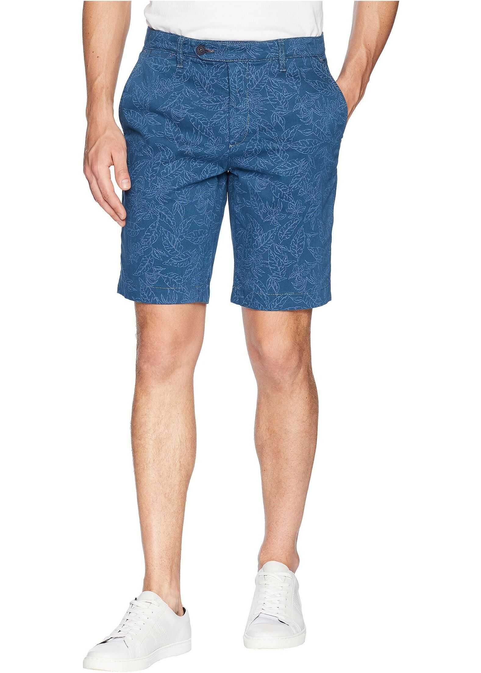 Leafee Leaf Print Shorts