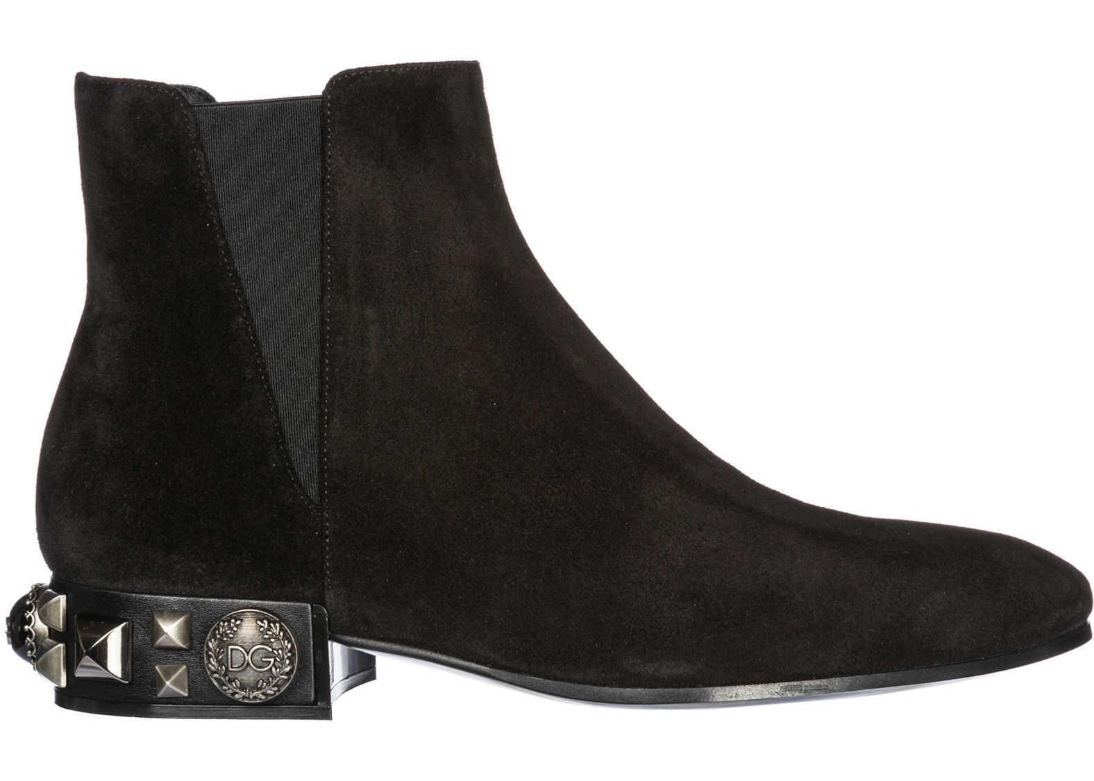 Dolce & Gabbana Booties Napoli Black