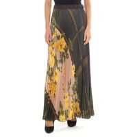 Fuste Pleated Skirt With Floral Print Femei