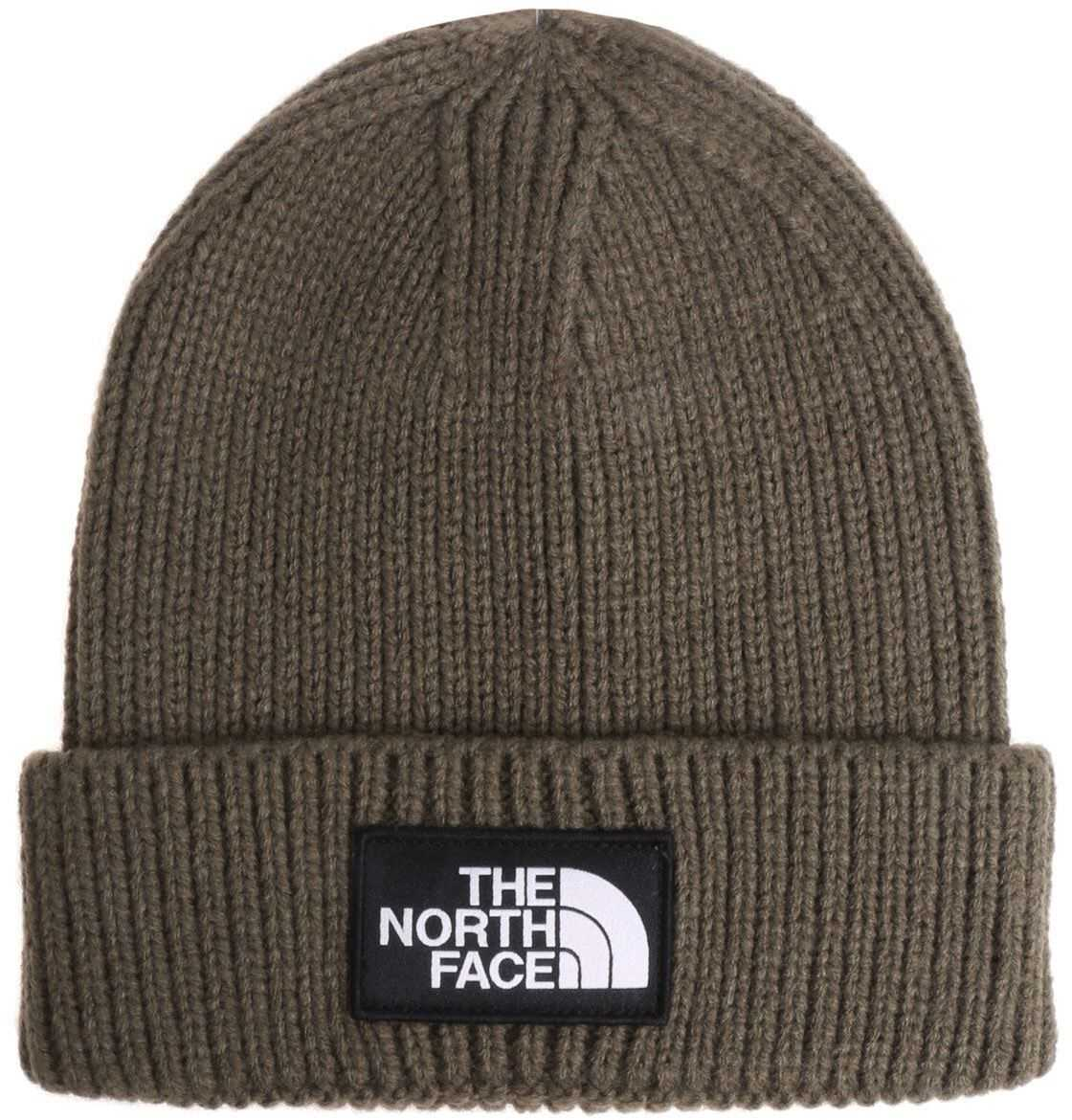 The North Face Green Beanie With Logo Green