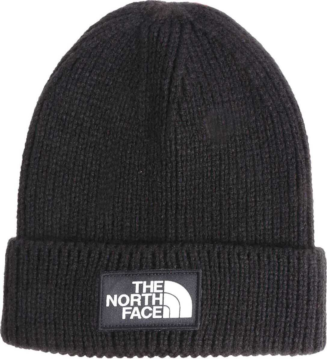 The North Face Black Beanie With Logo Black