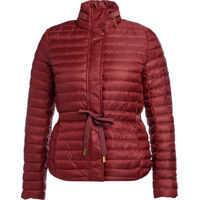 Geci de Puf Red Fabric Down Jacket Femei