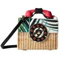 Genti Tip Postas Wicker Phone Bag Femei