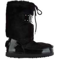Ghete & Cizme LOVE Moschino Moon boots in faux fur
