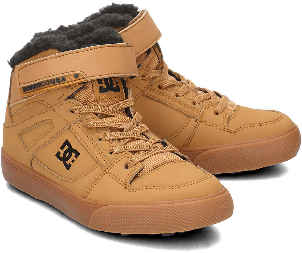 DC Pure High-Top Brązowy
