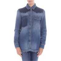 Camasi Denim Shirt With Studs Femei