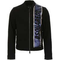 Bomber jacket Jacket With Laminated Band Barbati