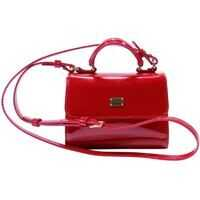Genti Patent Red Shoulder Bag Fete