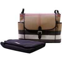 "Genti ""flap Diaper"" Beige Bag Fete"