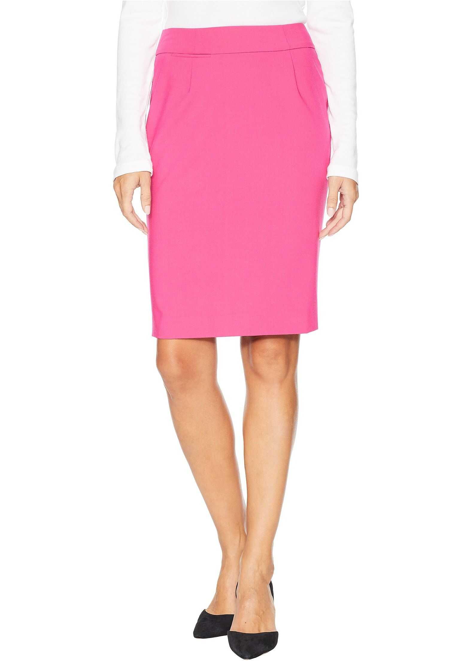 Calvin Klein Woven Skirt Hibiscus