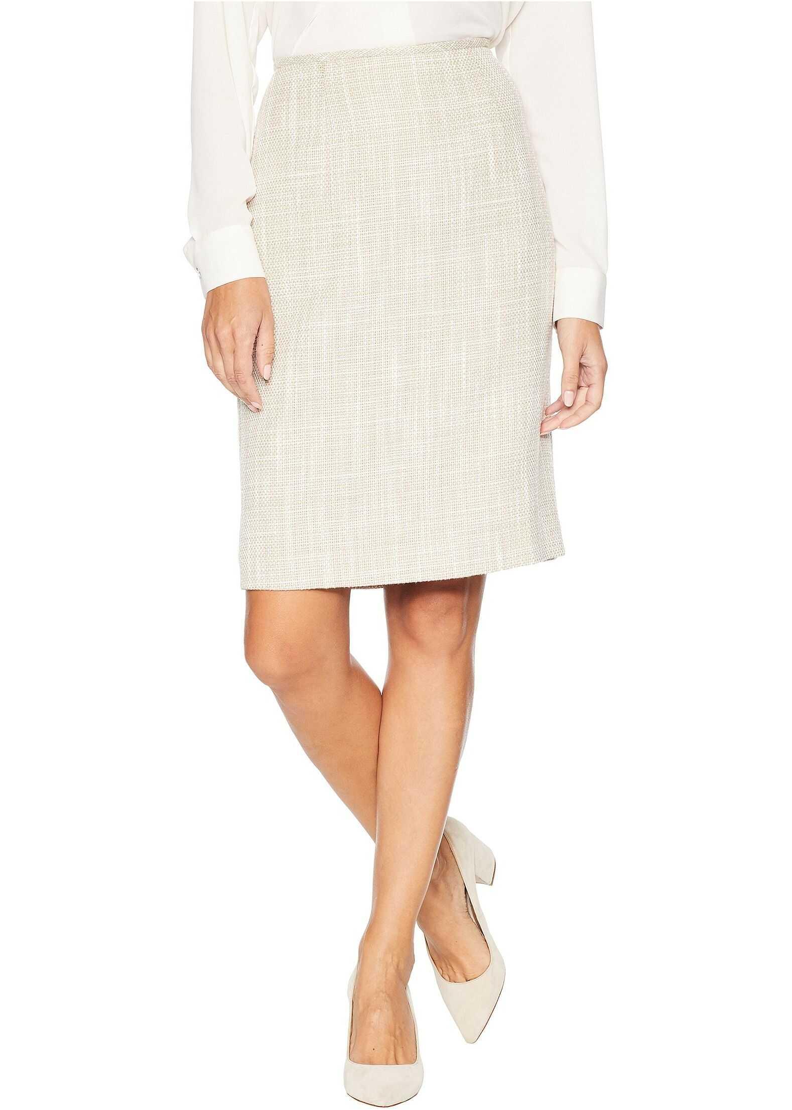 Calvin Klein Woven Skirt Khaki/Cream