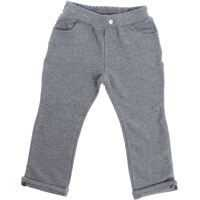 Pantaloni Gray Trousers With Turn-Up Baieti