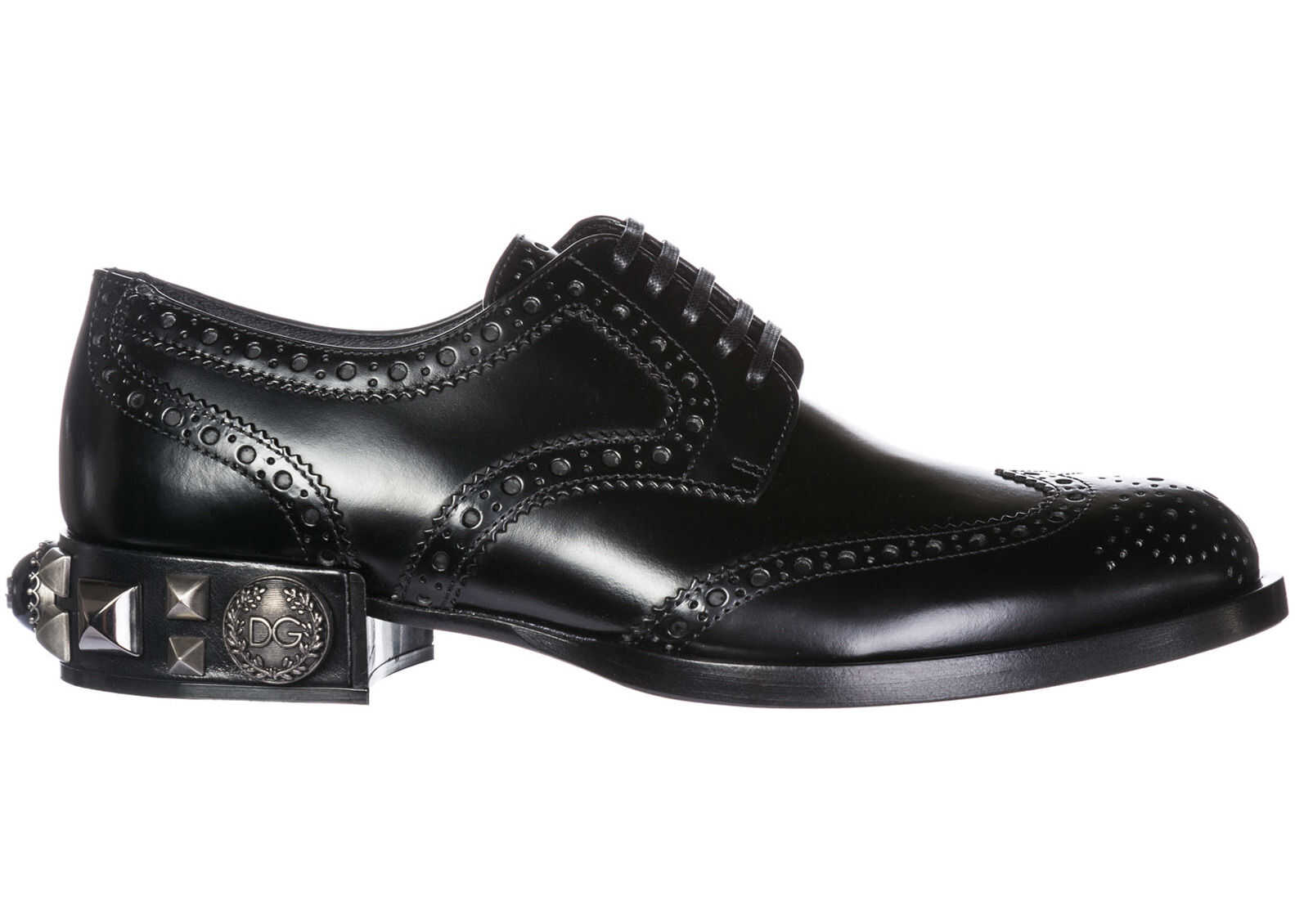 Dolce & Gabbana Shoes Derby Black