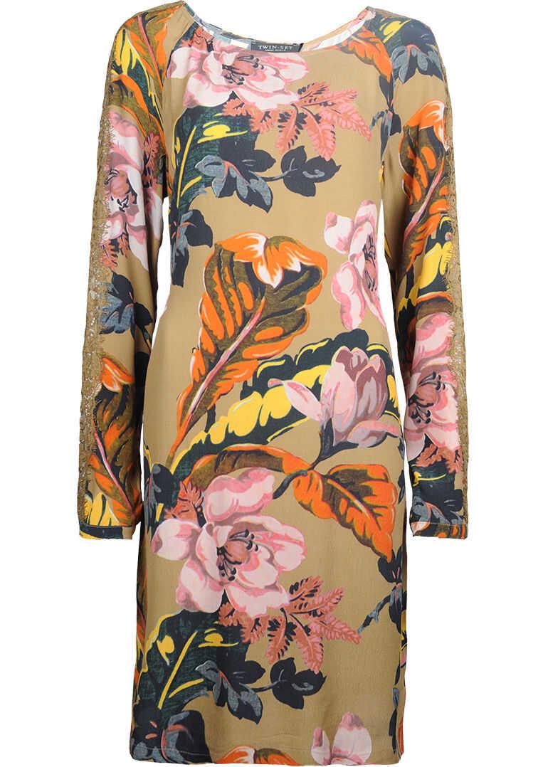 Twin-set Simona Barbieri Floral Print PA624P Wielokolorowy