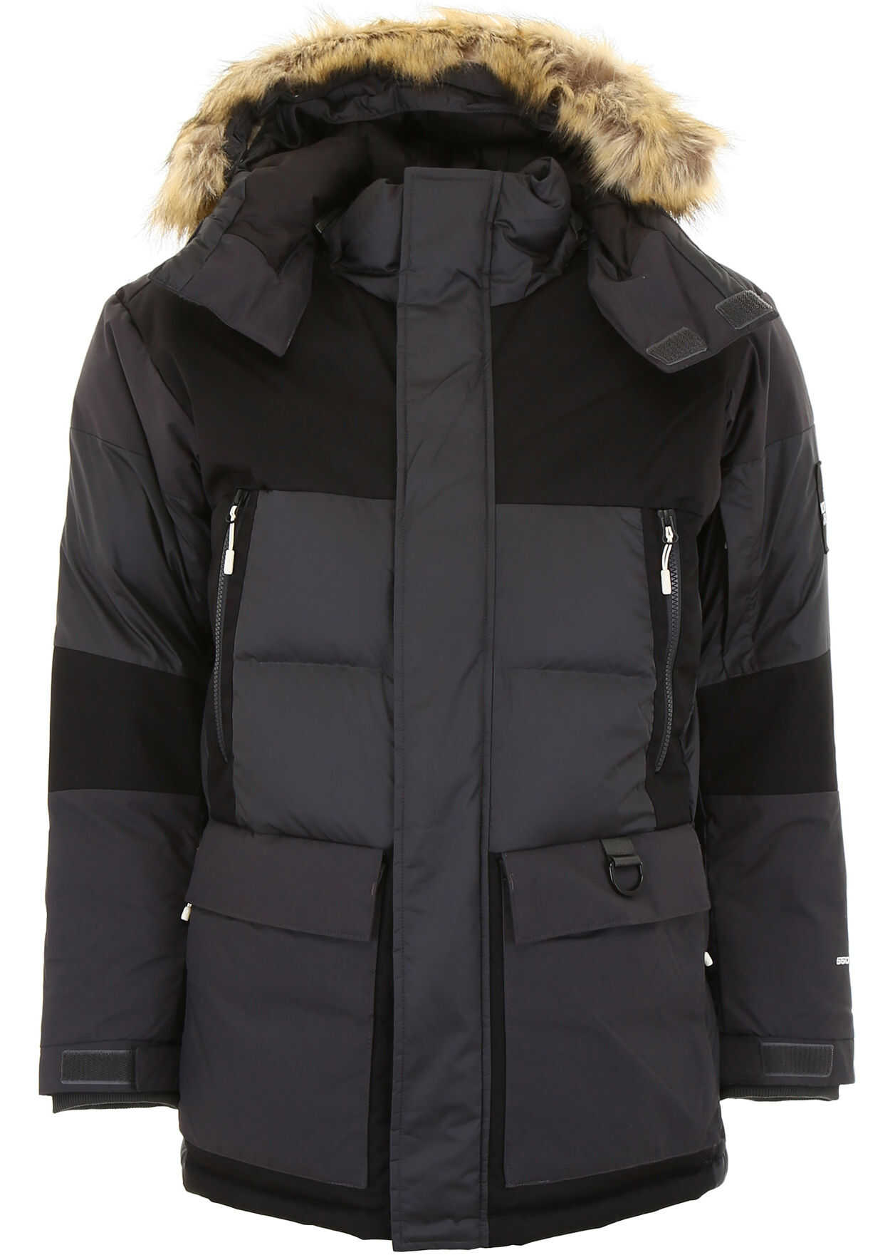 The North Face Hooded Parka ASPHALT