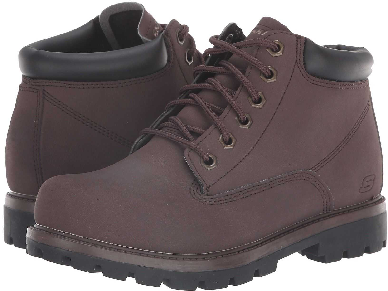 SKECHERS Relaxed Fit Toric Amado Chocolate