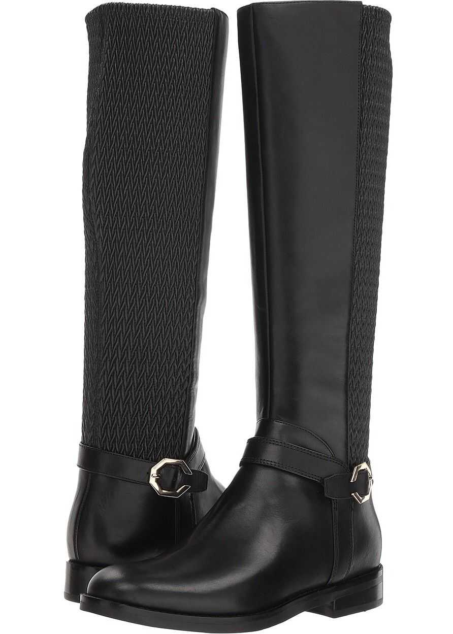 Cole Haan Leela Grand Riding Boot Black Leather