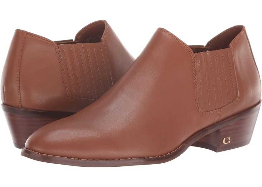 Botine Dama COACH Leather Ankle Bootie