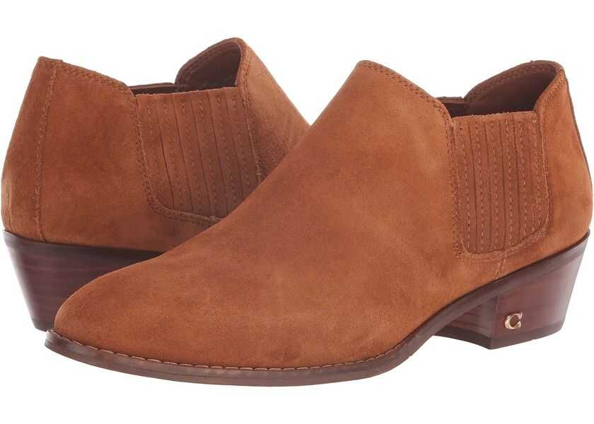 Botine Dama COACH Suede Ankle Bootie