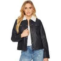 Geci de Piele Levi's® Faux Leather Buff Cow Jacket