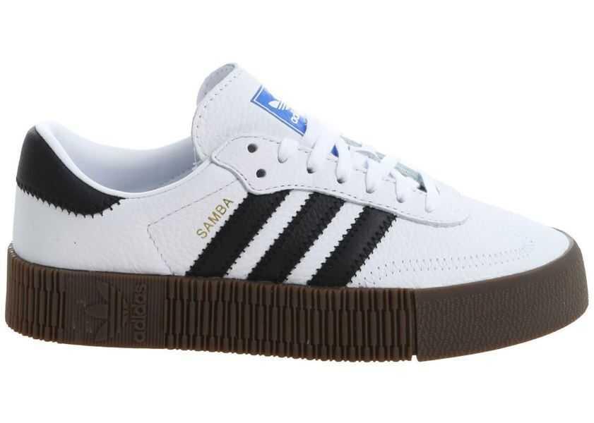 Sneakers Adidas Adidas Originals Sambarose Sneakers In White White