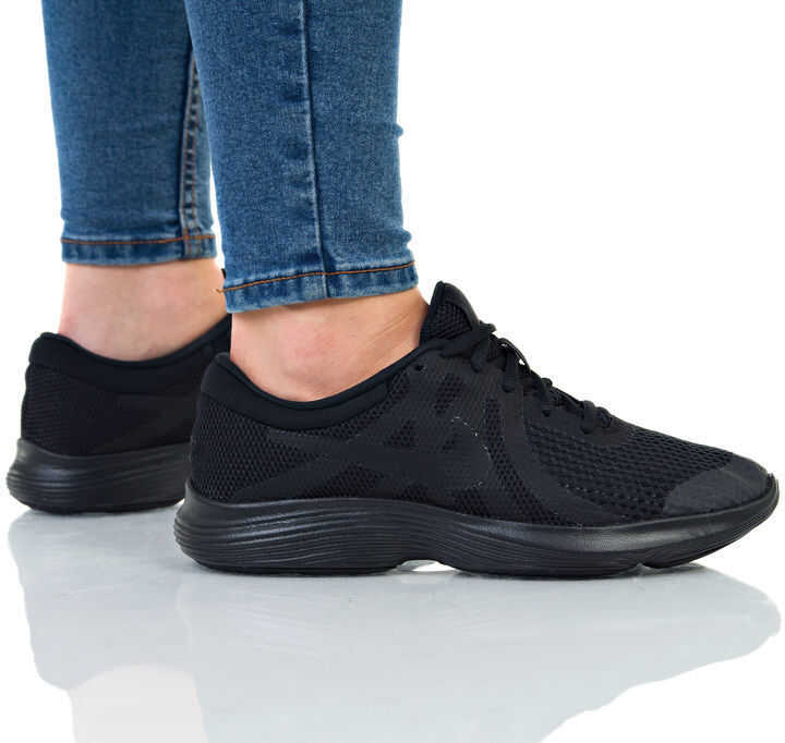 Nike Revolution 4 GS NEGRE