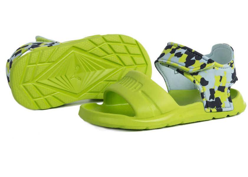 Sandale Fete PUMA Wild Sandal Injex Camo IN