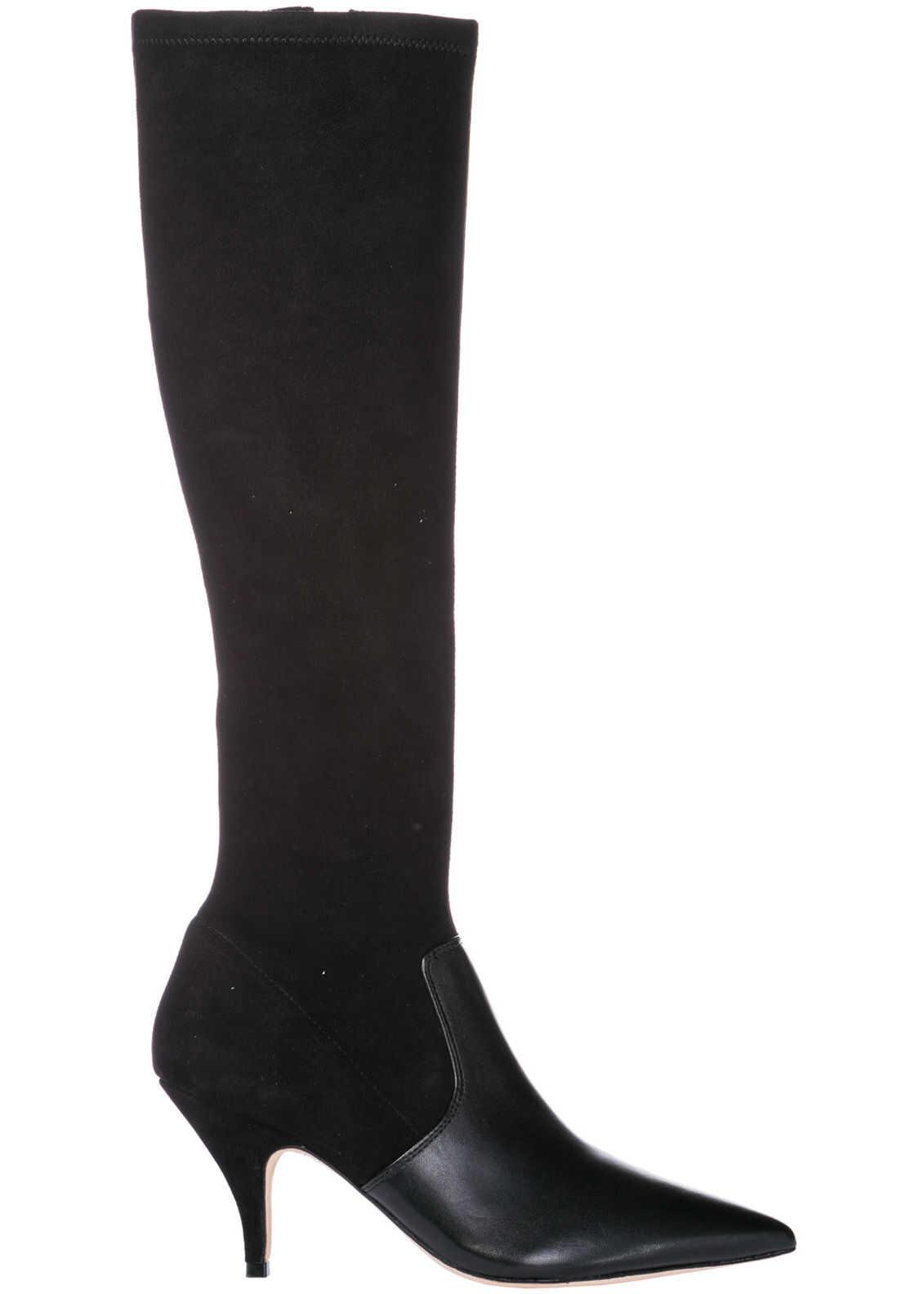 Tory Burch Boots Georgina Black