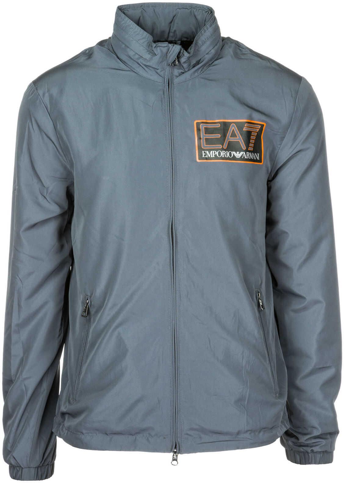 EA7 Blouson Hood Grey