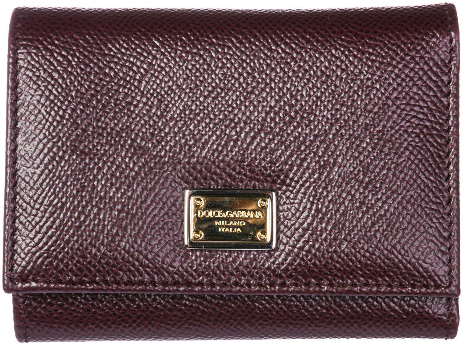 Dolce & Gabbana Card Trifold Red