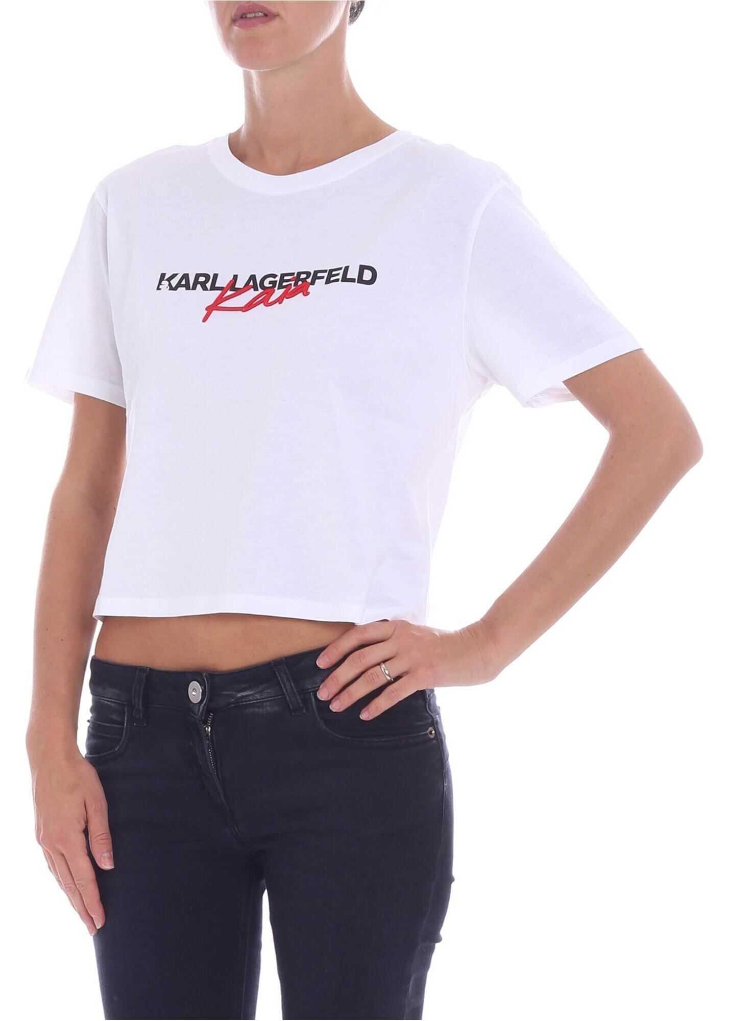 """""""Karl X Kaia"""" White T-Shirt"""