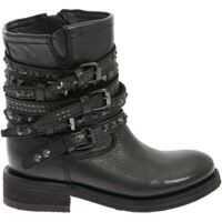 """Ghete & Cizme ASH """"tempt"""" Black Ankle Boots"""
