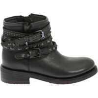 """Ghete & Cizme ASH """"tatum"""" Black Ankle Boots"""
