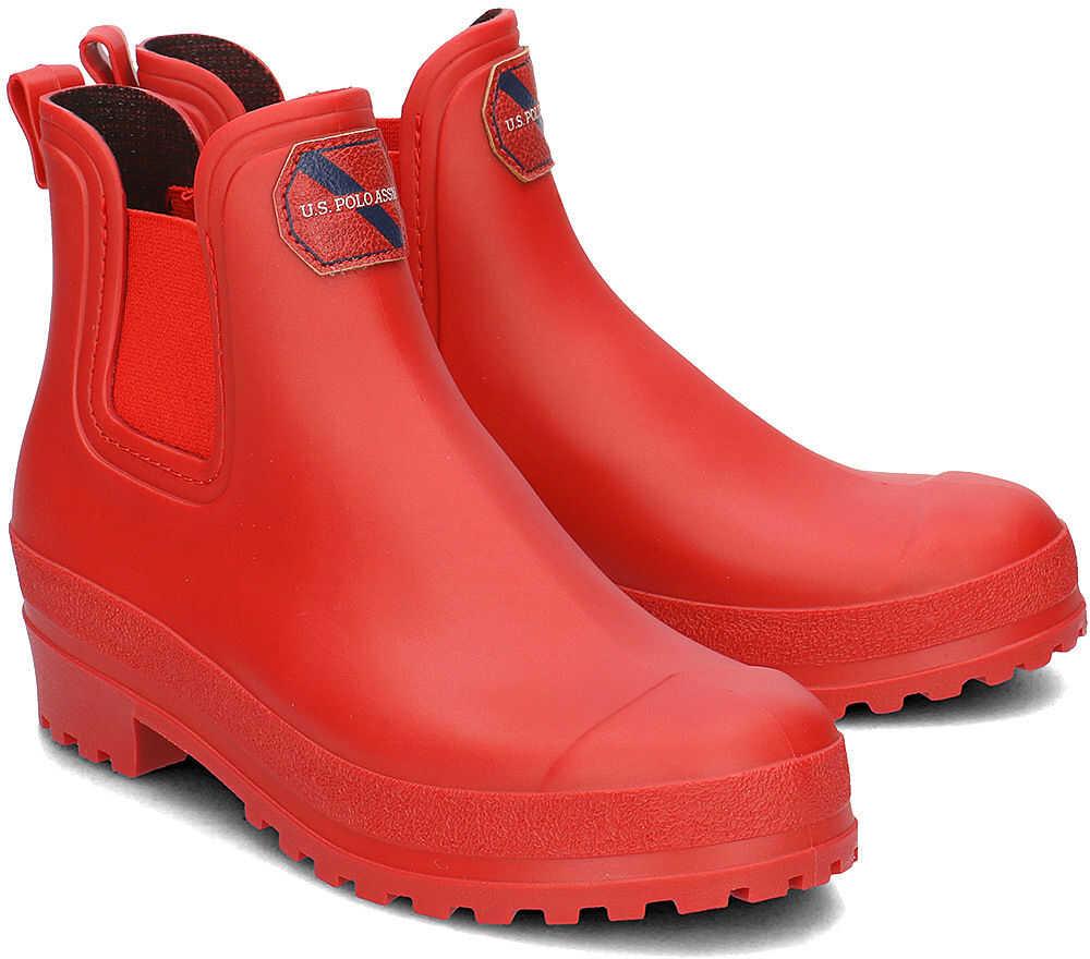 U.S. POLO ASSN. Wetness Czerwony