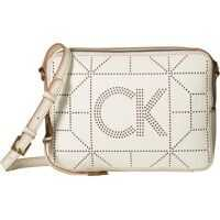 Genti Tip Postas Shelby Goat Leather Perf Crossbody Femei