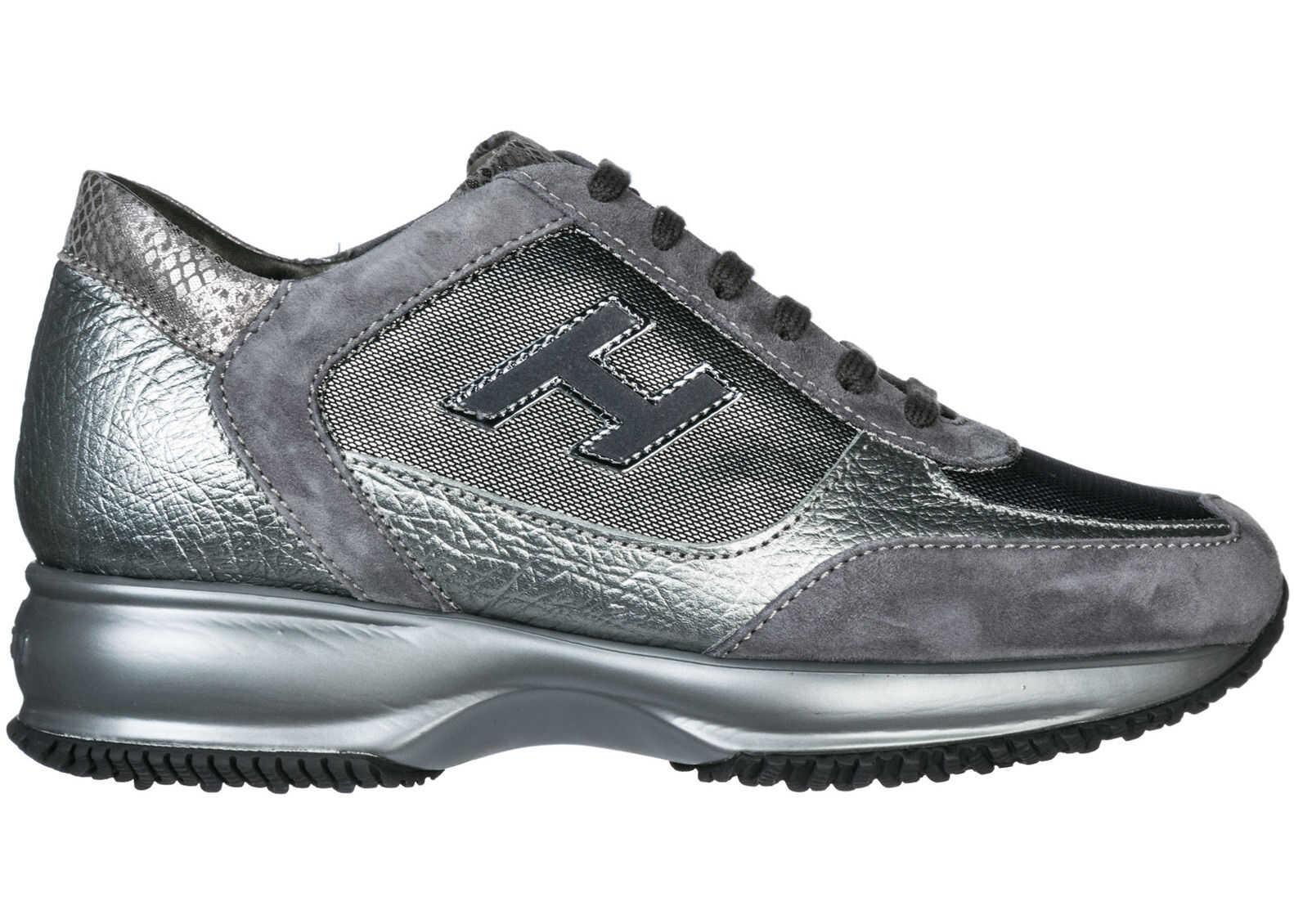 Hogan Sneakers Interactive Silver