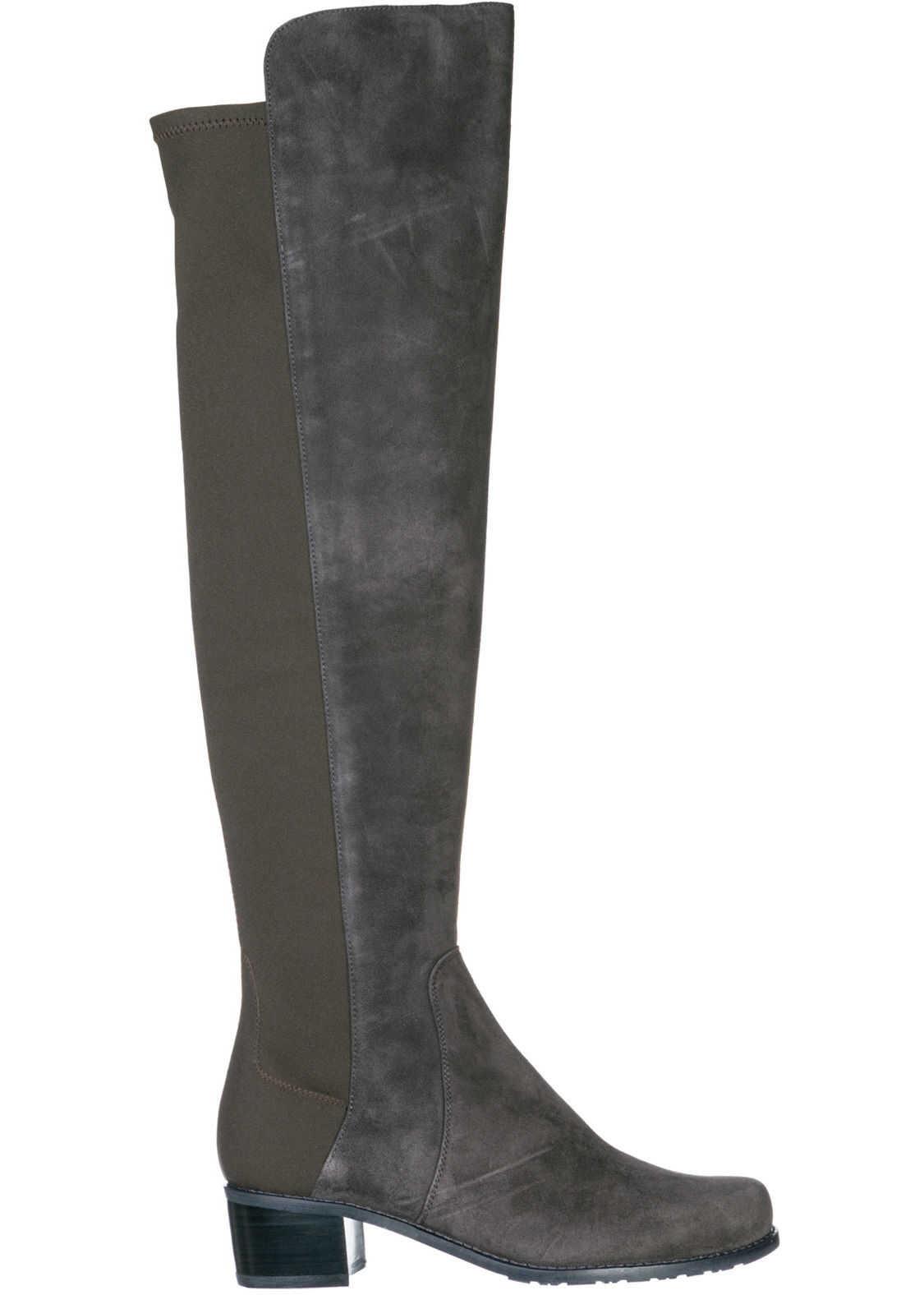 Stuart Weitzman Suede Boots Grey